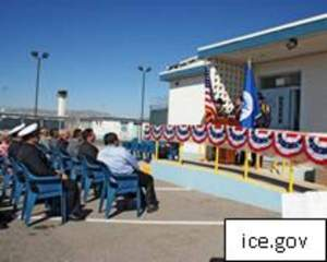 First Worship Center Opens at Processing Center for Immigrants