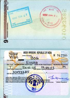 Indian Passport Application Form