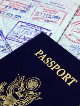 Using a Passport Application Form