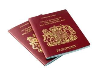 British Passport Fees